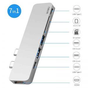 WIWU USB Type-c 7 in 1 Hub Aluminum Case_2