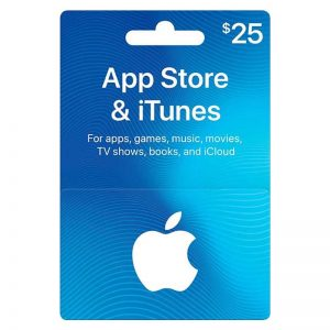 Apple iTunes Card 25$ (US)__alpha Store Kuwait