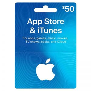 Apple iTunes Card 50$ (US)__alpha Store Kuwait