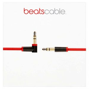 Beats Audio Cable Red