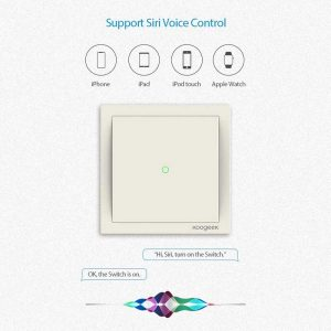 Koogeek Smart Light Switch-One Gang_alpha store Kuwait Online Shopping