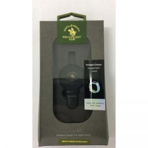 SANTA POLO AND RACQUET WIRELESS CHARGER FOR WATCH