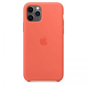 Apple iPhone 11 Pro Silicone Case - Clementine (Orange)