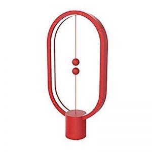 Heng Balance Lamp Ellipse Plastic USB RED