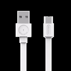 allocacoc USB cable USB-C Basic - White
