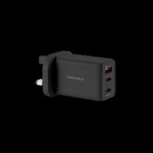 Momax ONE Plug 65W 3-port GaN Charger