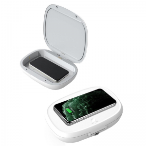 iWalk Capsule Multi-function Disaffection Box with 10W wireless charging -White