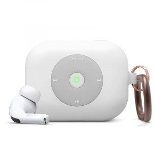 Elago AirPods Pro AW6 Hang Case (iPod) (White) (1)