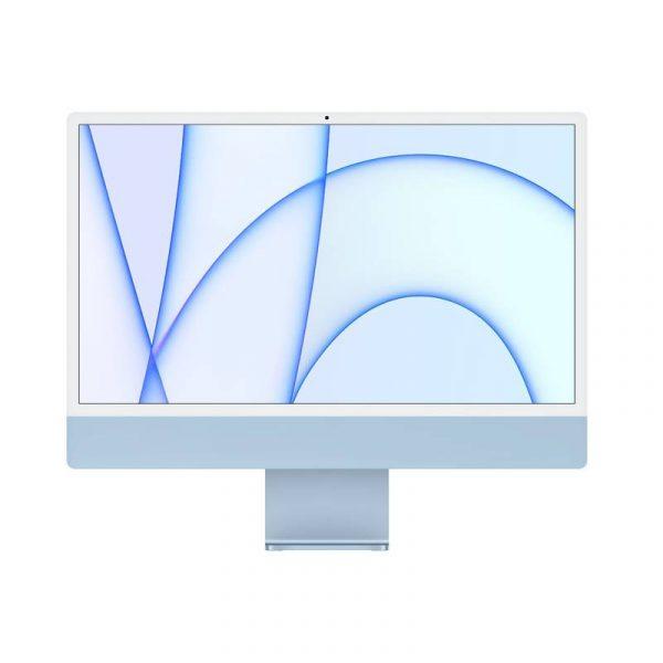 24 inch iMac 4.5K M1 8C CPU 7C GPU 256GB SSD Blue_alphastore kuwait