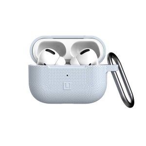 [U] by UAG Apple Airpods Pro DOT Silicone Case (Soft Blue)