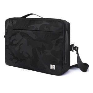 WIWU CAMOU SLEEVE CARRY BAG FOR 16 INCH APPLE MACBOOK - BLACK_1