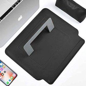 Wiwu Skin Pro Slim Stand Sleeve For Macbook Air 13 And Macbook Pro 13 - Black