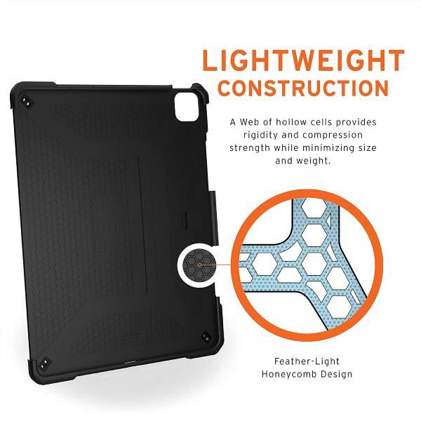 "UAG iPad Pro 12.9"" 5th Gen 2021 Metropolis Case (Black)"