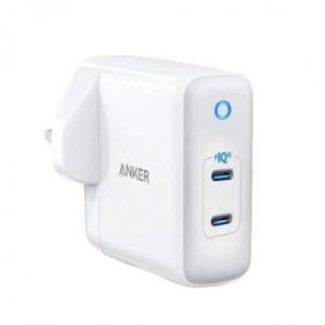 Anker PowerPort III Duo 40W (20W+20W) -White