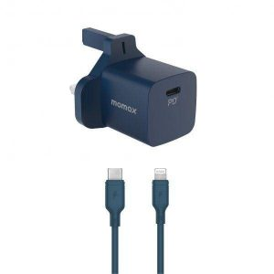 Momax FAST PRO 20WPD - 1 Port PD + lightning cable