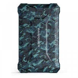 RAVPower RP-PB096 10050mAh PD 18W+QC3.0 Waterproof Power Bank camouflage Offline