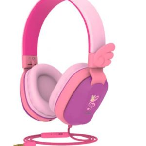 Riwbox CS6 Kids Wired Headphones Purple&Pink
