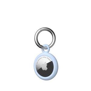 [U] by UAG Apple AirTags Dot Keychain Case (Soft Blue)