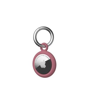 [U] by UAG Apple AirTags Dot Keychain Case (Dusty Rose)