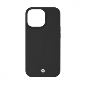 Momax iPhone13 Silicone Case Magnetic compatible non MFI Lincese Black