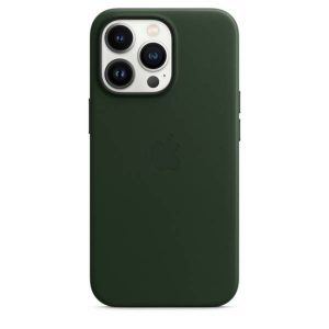 iPhone 13 Pro Leather Case with MagSafe - Sequoia Green