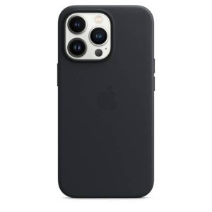 iPhone 13 Pro Leather Case with MagSafe - Midnight