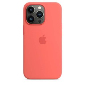 iPhone 13 Pro Silicone Case with MagSafe – Pink Pomelo