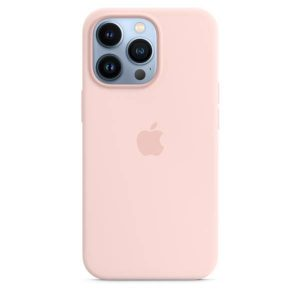 iPhone 13 Pro Silicone Case with MagSafe – Chalk Pink