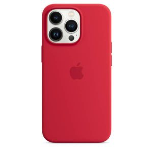 iPhone 13 Pro Max Silicone Case with MagSafe – (PRODUCT)RED