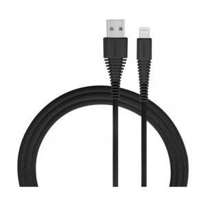 Momax Tough Link Lightning cable -1m-Black