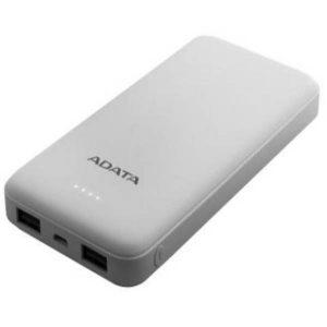 ADATA PowerBank 10000mAp-USB-A- COLOR WHITE