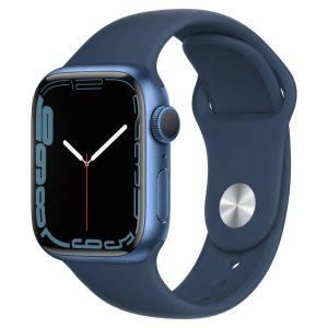 Watch S7 GPS 41mm Blue Aluminium Case -Abyss Blue Sport Band