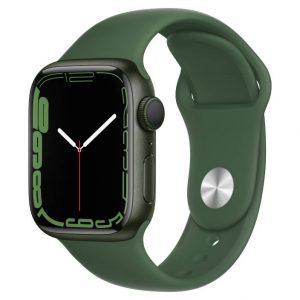 Watch S7 GPS 41mm Green Aluminium Case -Clover Sport Band