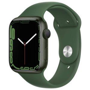 Watch S7 GPS 45mm Green Aluminium Case -Clover Sport Band