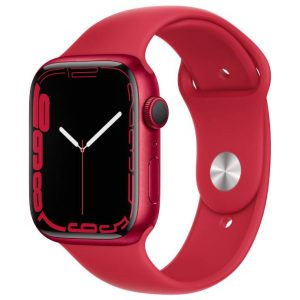 Watch S7 GPS Cellular 45mm (PRODUCT)RED Aluminium Case -(PRODUCT)RED Sport Band
