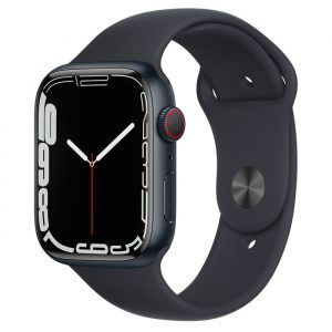 Watch S7 GPS Cellular 45mm Midnight Aluminum Case -Midnight Sport Band