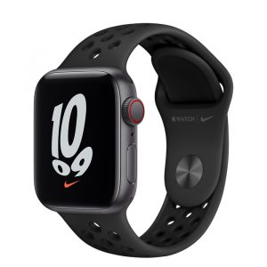 Watch Nike SE GPS Cellular 40mm Space Grey Alum, Anthracite/Black Band