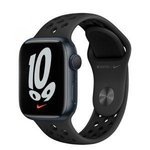 Watch Nike 7 GPS 41mm Midnight Alum Case - Anthracite/Black Nike Band