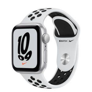 Watch Nike SE GPS 40mm Silver Alum, Pure Platinum/Black Band