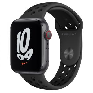Watch Nike SE GPS Cellular 44mm Space Grey Alum, Anthracite/Black Band
