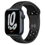 Watch Nike 7 GPS 45mm Midnight Alum Case - Anthracite/Black Nike Band