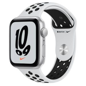 Watch Nike SE GPS 44mm Silver Alum, Pure Platinum/Black Band